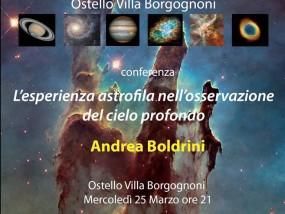 L'esperienza astrofila ...