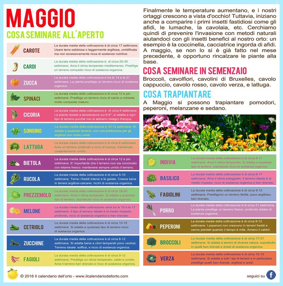 Calendario Lunare Maggio.L Orto E Il Giardino Di Maggio 2016 Marcheplace Le