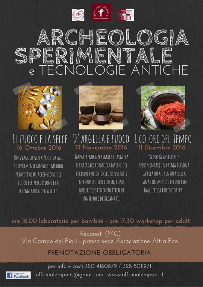 workshop archeologia