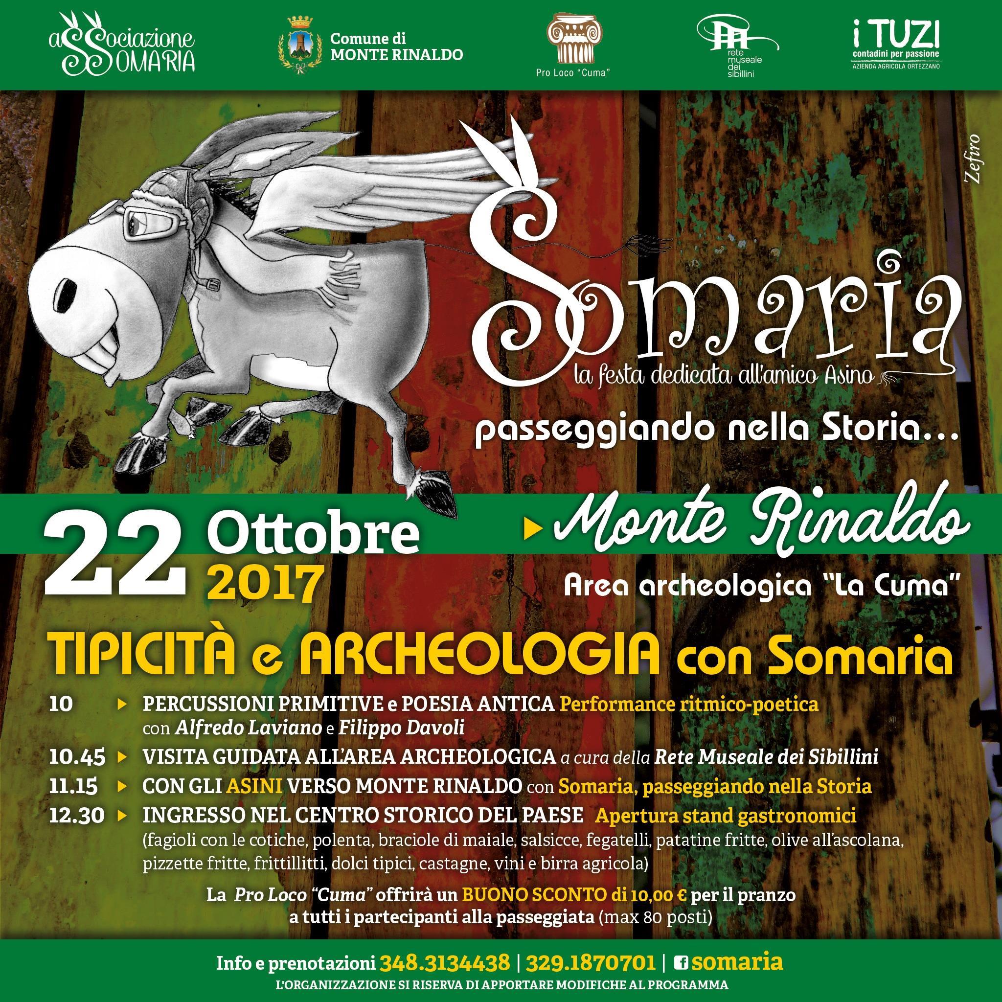 Tipicità & Archeologia con Somaria