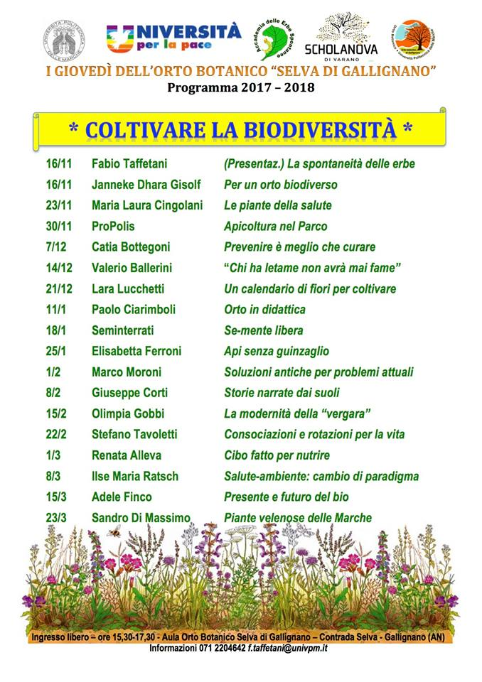 coltivare la biodiversità