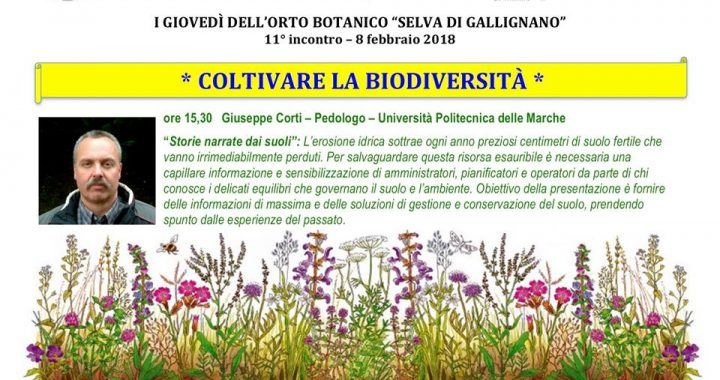 i giovedì dell'orto botanico
